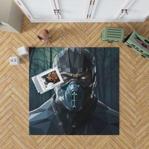 Sub Zero Bi-Han Mortal Kombat X Bedroom Living Room Floor Carpet Rug