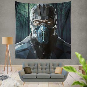 Sub Zero Bi-Han Mortal Kombat X Wall Hanging Tapestry