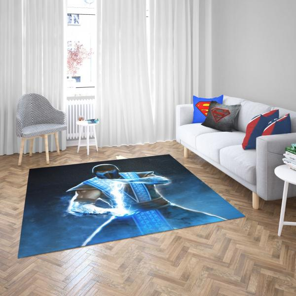 Sub Zero Mortal Kombat Annihilation Movie Bedroom Living Room Floor Carpet Rug