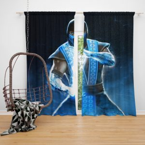 Sub Zero Mortal Kombat Annihilation Movie Bedroom Window Curtain