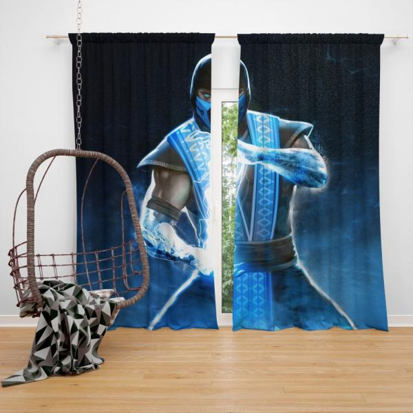 Sub Zero Mortal Kombat Annihilation Movie Bedroom Window Curtain