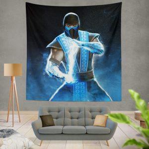 Sub Zero Mortal Kombat Annihilation Movie Wall Hanging Tapestry
