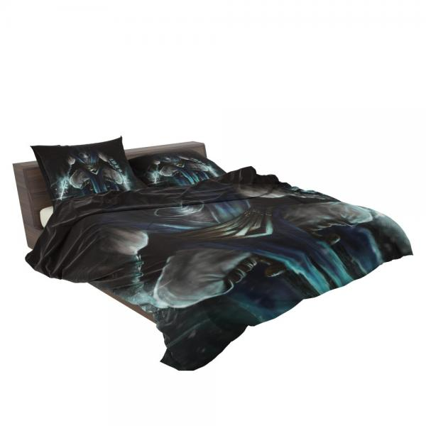 Sub Zero Mortal Kombat Game Bedding Set