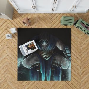 Sub Zero Mortal Kombat Game Bedroom Living Room Floor Carpet Rug