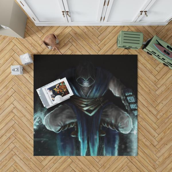 Sub Zero Mortal Kombat Game Bedroom Living Room Floor Carpet Rug