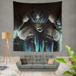 Sub Zero Mortal Kombat Game Wall Hanging Tapestry