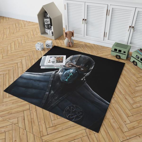 Sub Zero Mortal Kombat x PC Game Bedroom Living Room Floor Carpet Rug