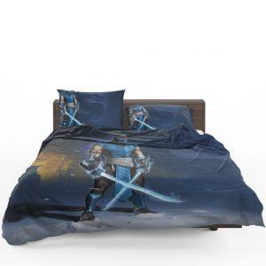 Sub Zero Sword Warrior Mortal Kombat Video Game Bedding Set