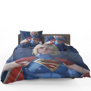 Supergirl DC Comics Injustice 2 Video Game Unreal Engine 3 Bedding Set