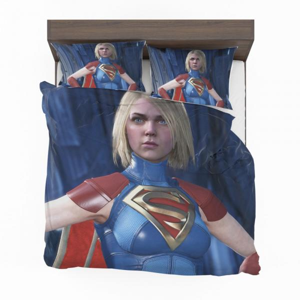 Supergirl DC Comics Injustice 2 Video Game Unreal Engine 3 Bedding Set