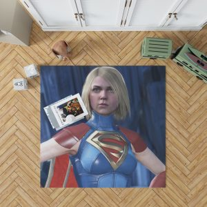 Supergirl DC Comics Injustice 2 Video Game Unreal Engine 3 Bedroom Living Room Floor Carpet Rug