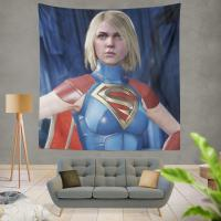 Supergirl DC Comics Injustice 2 Video Game Unreal Engine 3 Wall Hanging Tapestry