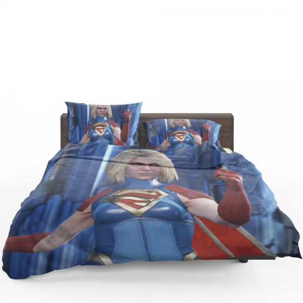 Supergirl DC Universe Injustice 2 PC Game Bedding Set