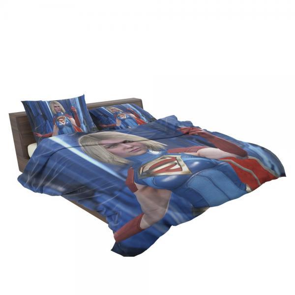 Supergirl DC Universe Injustice 2 PC Game Bedding Set
