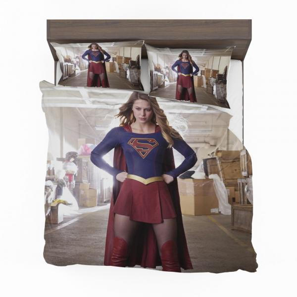 Supergirl Melissa Benoist DC Comics TV Show Justice League United Bedding Set