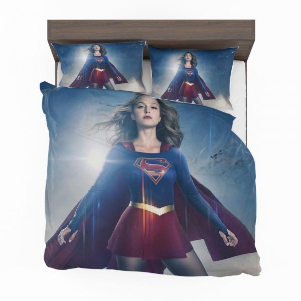 Supergirl TV Show Melissa Benoist DC Comics Bedding Set