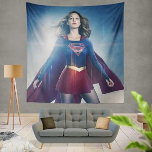 Supergirl TV Show Melissa Benoist DC Comics Wall Hanging Tapestry
