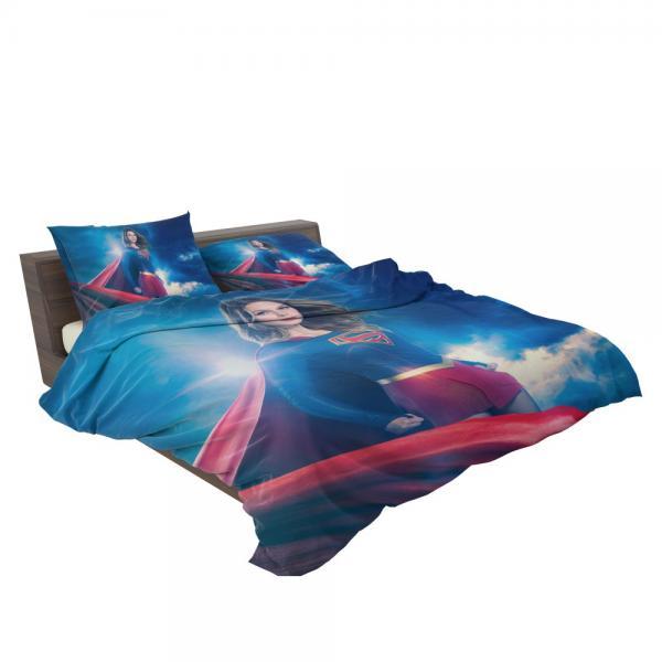 Supergirl TV Show Melissa Benoist Teen Titans Bedding Set