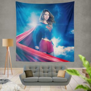 Supergirl TV Show Melissa Benoist Teen Titans Wall Hanging Tapestry