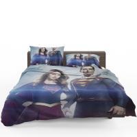 Supergirl and Superman TV Show Melissa Benoist Tyler Hoechlin Bedding Set