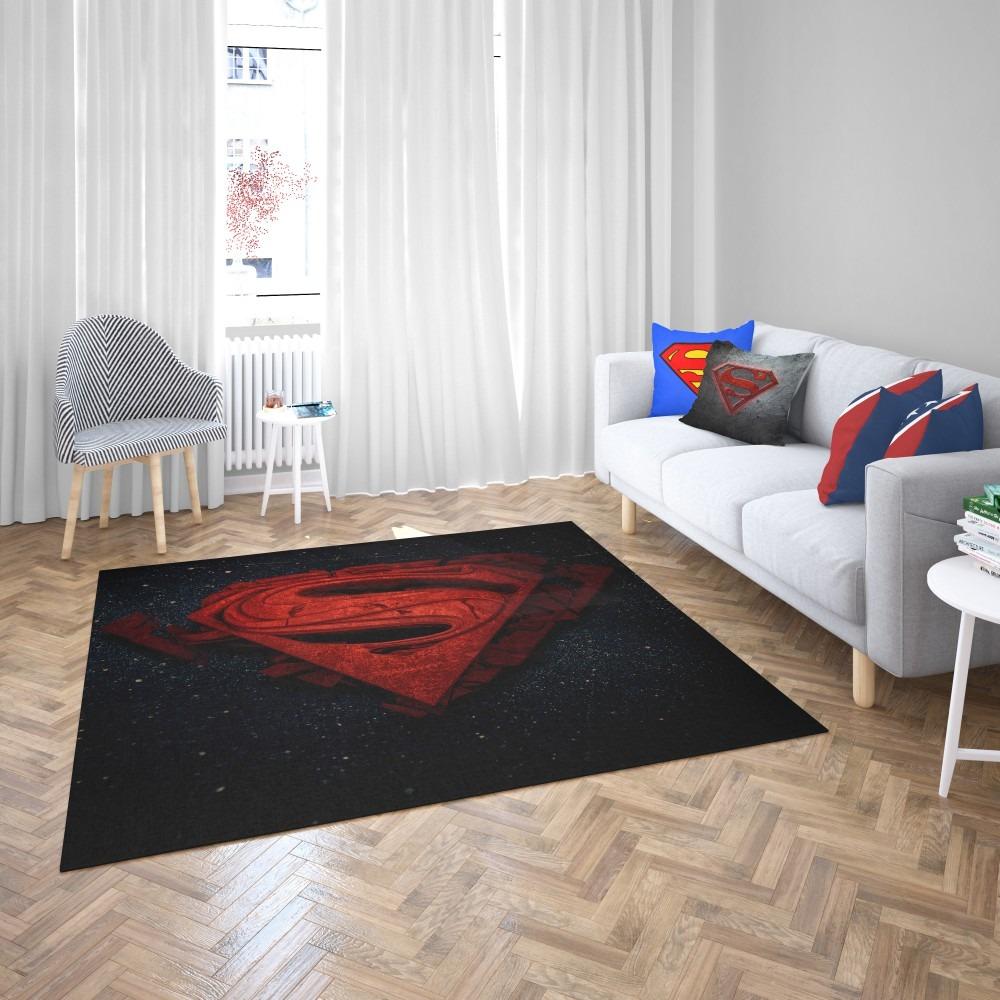 Unique Batman Vs Superman Bedroom Ideas That Rock: Superman Batman DC Comics 3D Logo Bedroom Living Room