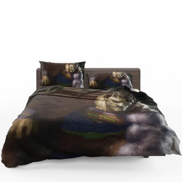 Superman Bizarro DC Universe Bedding Set