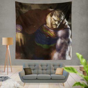Superman Bizarro DC Universe Wall Hanging Tapestry