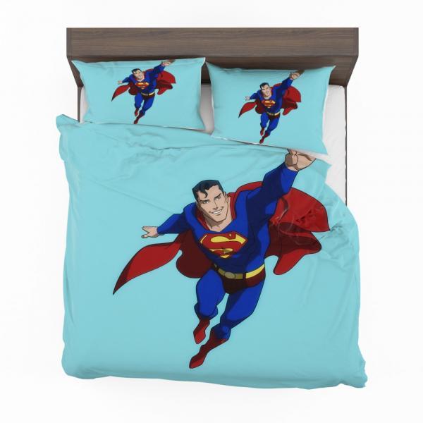 Superman DC Comics Justice League Bedding Set