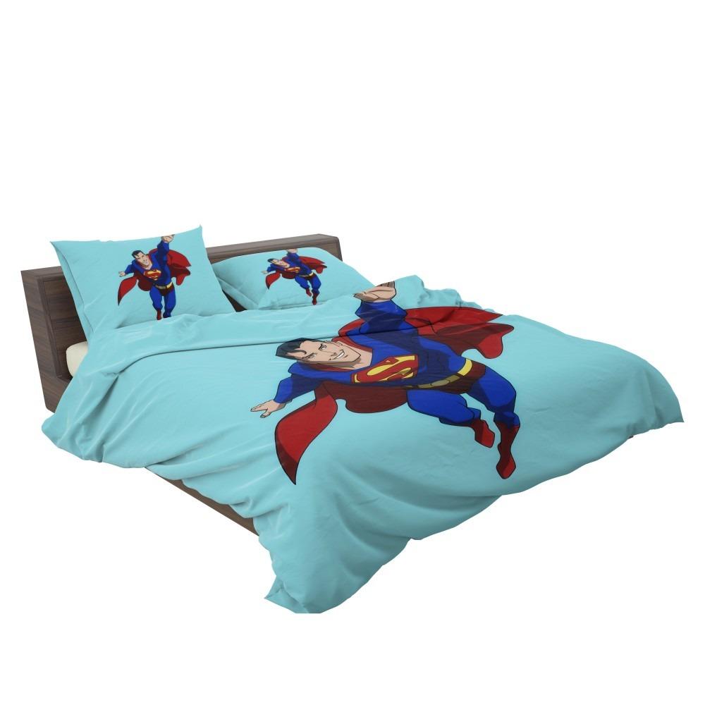 Superman Dc Comics Justice League Bedding Set Super Heroes Bedding