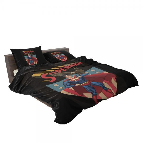Superman DC Comics Legion of Super-Heroes Bedding Set
