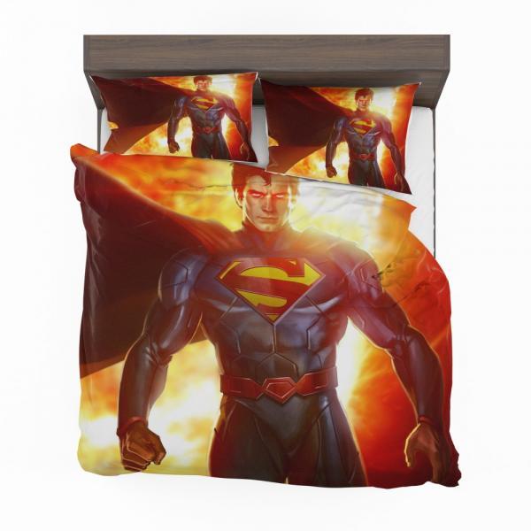 Superman DC Comics Man Of Steel Super Hero Bedding Set