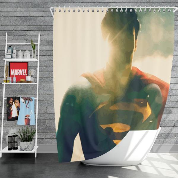 Superman DC Comics Super Hero Shower Curtain