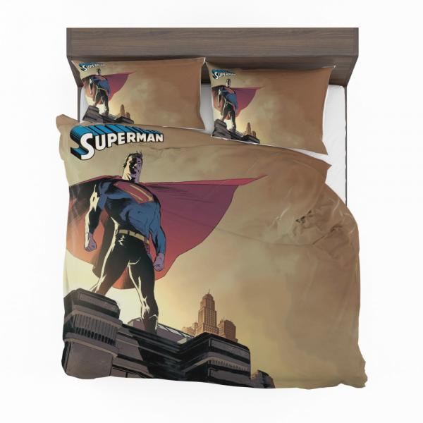 Superman DC Universe Legion of Super-Heroes Bedding Set