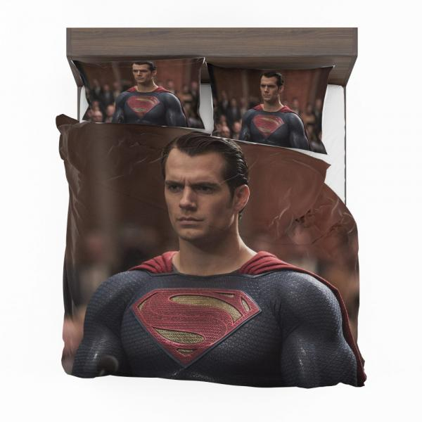 Superman Henry Cavill in Batman v Superman Dawn of Justice Movie Bedding Set