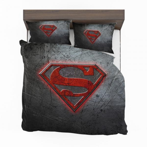 Superman Logo DC Comics Bedding Set