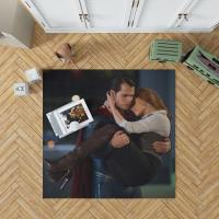 Superman & Lois Lane in Batman v Superman Dawn of Justice Movie Bedroom Living Room Floor Carpet Rug