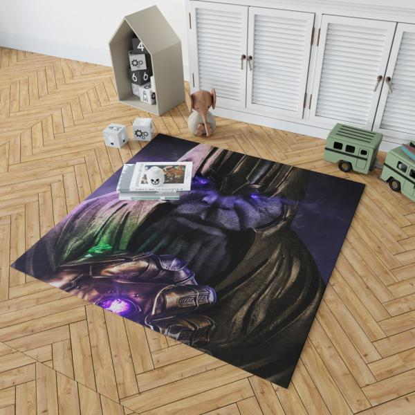 Thanos Avengers Infinity War Thanos Wins Bedroom Living Room Floor Carpet Rug