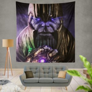 Thanos Avengers Infinity War Thanos Wins Wall Hanging Tapestry