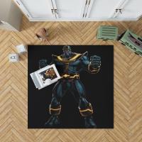 Thanos Fictional Super Villain Marvel Comics Bedroom Living Room Floor Carpet Rug