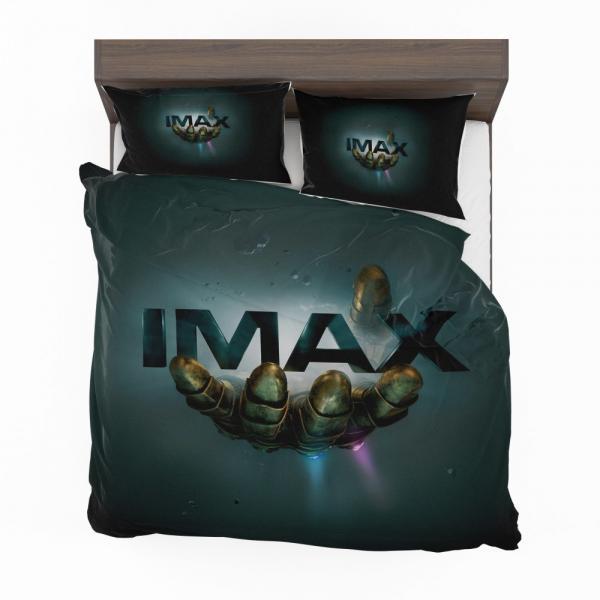 Thanos Infinity Gauntlet Imax Avengers Infinity War Movie Bedding Set