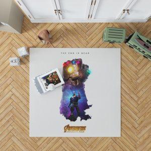 Thanos Infinity Gauntlet Marvel Avengers Infinity War Bedroom Living Room Floor Carpet Rug