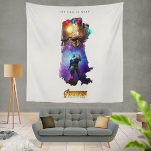 Thanos Infinity Gauntlet Marvel Avengers Infinity War Wall Hanging Tapestry