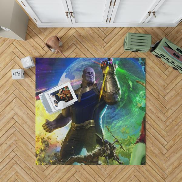 Thanos Josh Brolin in Marvel Avengers Infinity War Movie Bedroom Living Room Floor Carpet Rug