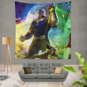 Thanos Josh Brolin in Marvel Avengers Infinity War Movie Wall Hanging Tapestry