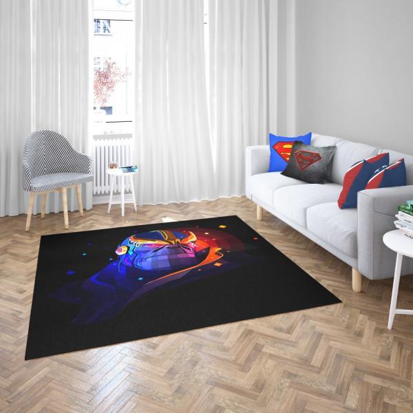 Thanos Returns Artwork Marvel Cinematic Universe Bedroom Living Room Floor Carpet Rug