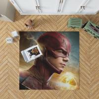 The Flash 2014 TV Show Grant Gustin Barry Allen Bedroom Living Room Floor Carpet Rug