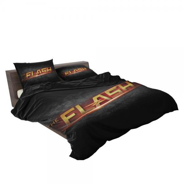 The Flash DC Comics Logo Bedding Set