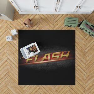 The Flash DC Comics Logo Bedroom Living Room Floor Carpet Rug