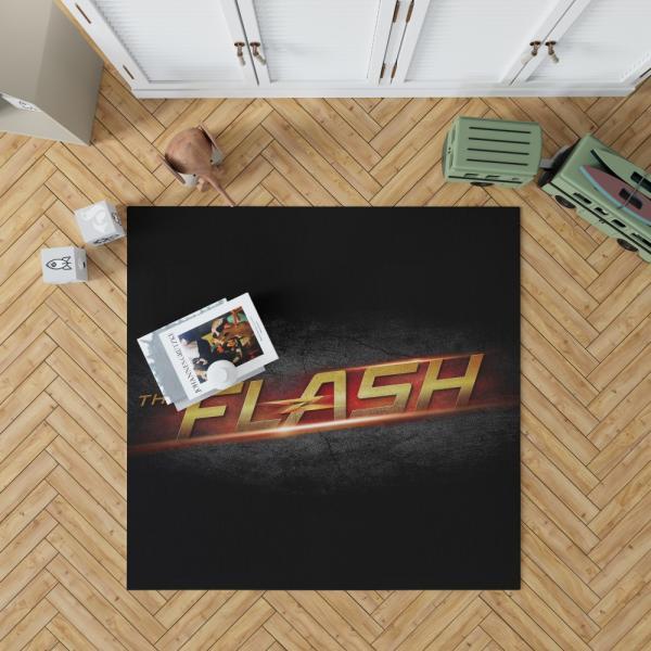 The Flash DC Comics Logo Bedroom Living Room Floor Carpet Rug