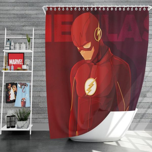 The Flash DC Multiverse Comics Shower Curtain